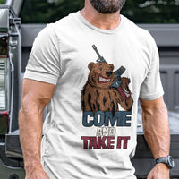 Load image into Gallery viewer, Come and Take It Bear T-Shirt VIP