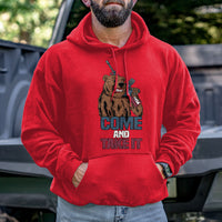 Load image into Gallery viewer, Come and Take It Bear Hoodie