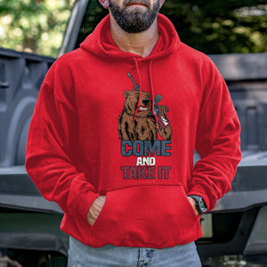 Come and Take It Bear Hoodie