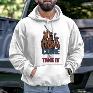Come and Take It Bear Hoodie VIP