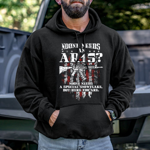 No One Needs an AR15 Hoodie