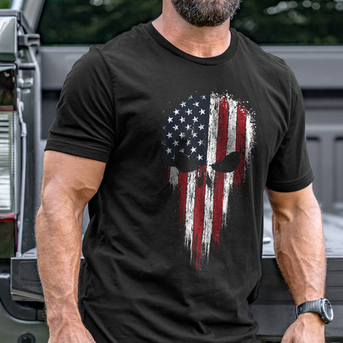 Patriot Skull T-Shirt VIP