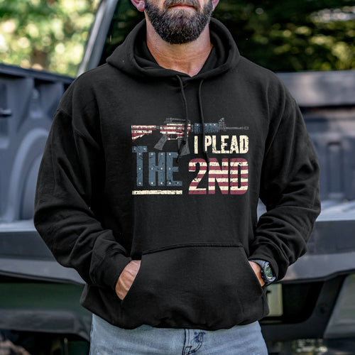 I Plead the 2nd Hoodie VIP