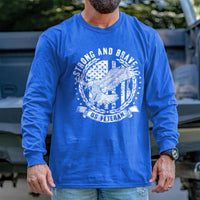 Load image into Gallery viewer, Strong and Brave Long Sleeve VIP