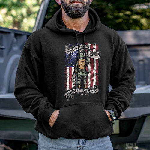The Duty of a Patriot Hoodie