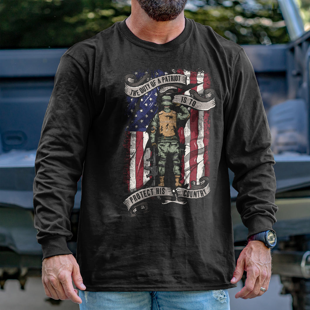 The Duty of a Patriot Long Sleeve