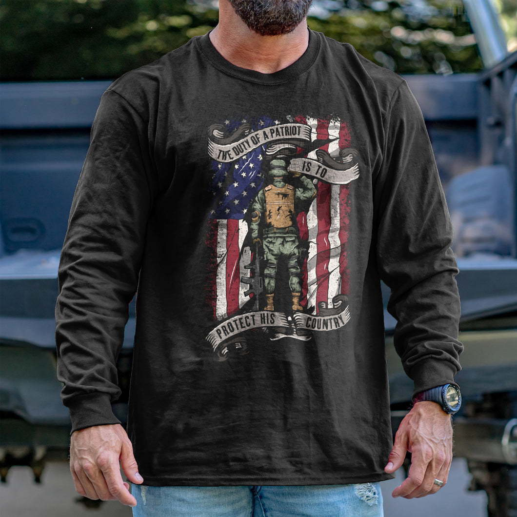 The Duty of a Patriot Long Sleeve VIP