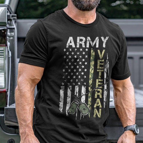 Army Veteran T-Shirt VIP
