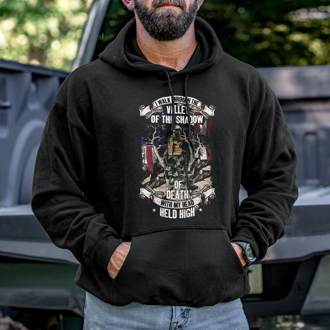 Shadow of the Valley and Death Hoodie VIP