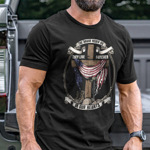 The Brave Never Die T-Shirt VIP