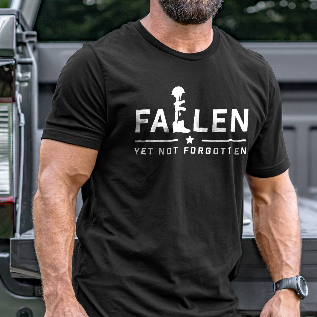 Fallen Yet Not Forgotten Logo T-Shirt VIP
