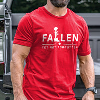 Load image into Gallery viewer, Fallen Yet Not Forgotten Logo T-Shirt VIP