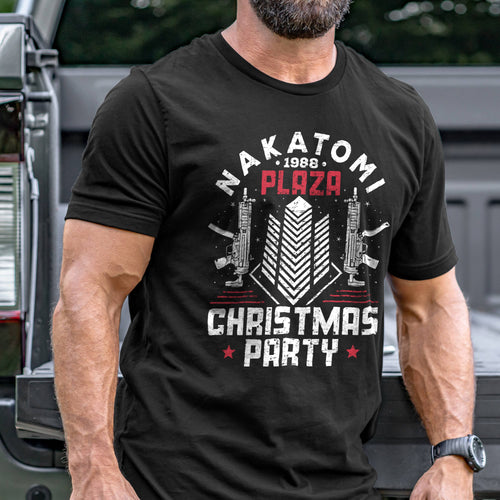 Nakatomi Plaza Christmas Party T-Shirt VIP
