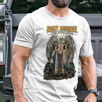 Load image into Gallery viewer, Saint Michael T-Shirt VIP