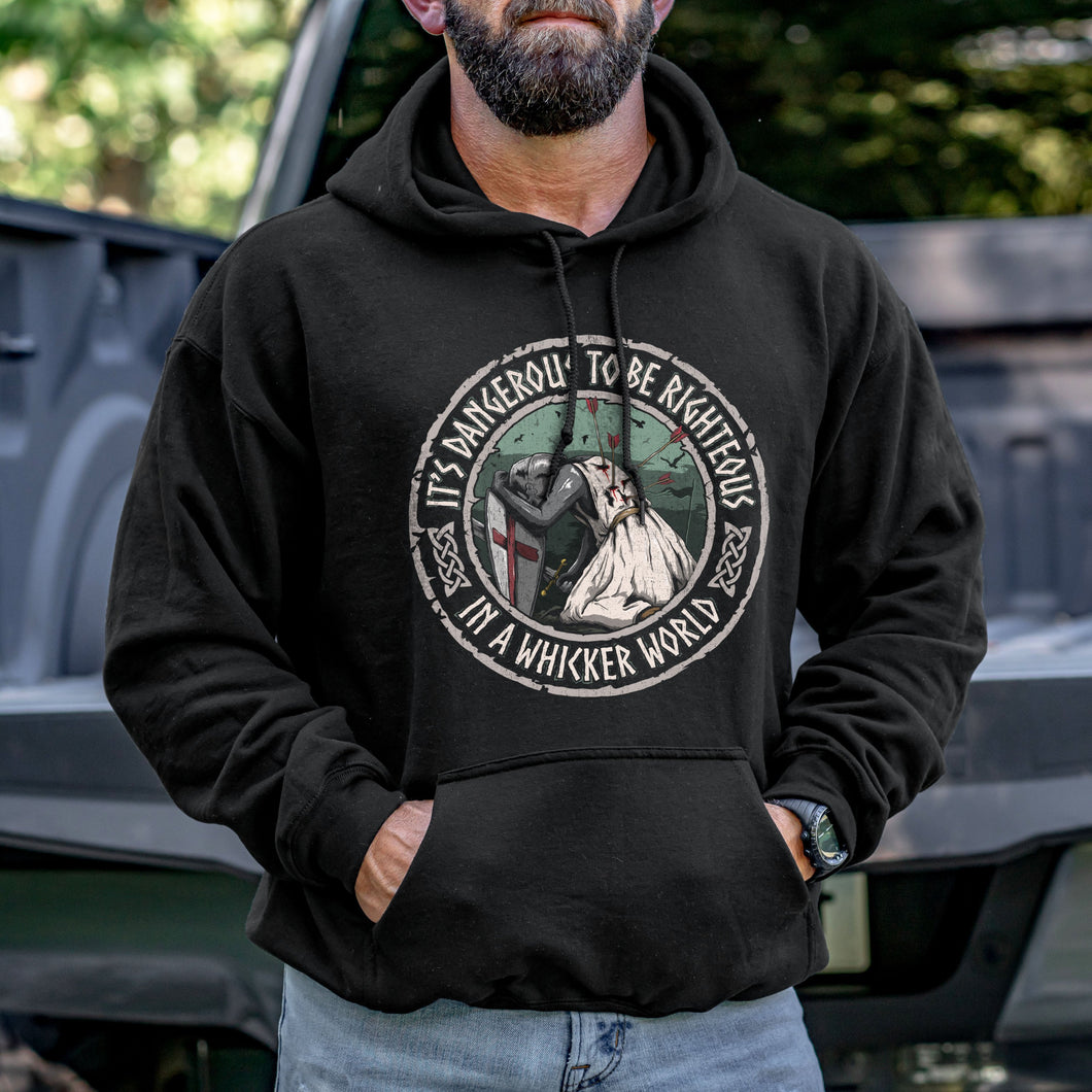 It's Dangerous to be Righteous Hoodie VIP
