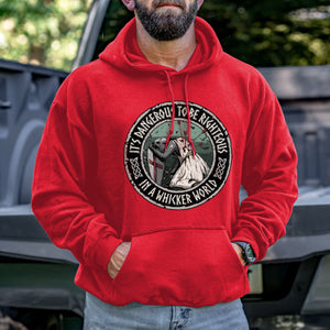 It's Dangerous to be Righteous Hoodie