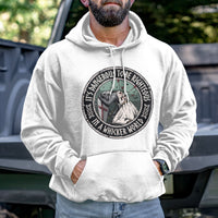 Load image into Gallery viewer, It's Dangerous to be Righteous Hoodie VIP