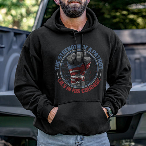 The Strength of a Patriot Hoodie