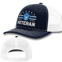 Load image into Gallery viewer, Navy Veteran Premium Hat
