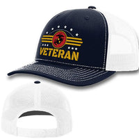 Load image into Gallery viewer, Marine Corps Veteran Premium Hat VIP