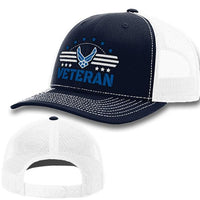 Load image into Gallery viewer, Air Force Veteran Premium Hat VIP