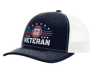 Coast Guard Veteran Premium Hat
