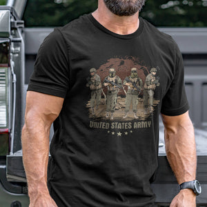 Group of United States Army T-Shirt VIP