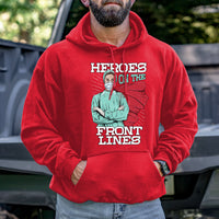 Load image into Gallery viewer, Heroes on the Front Lines Hoodie VIP