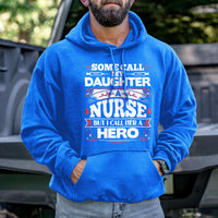 Load image into Gallery viewer, My Daughter a Hero Hoodie VIP