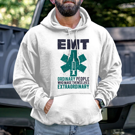 Load image into Gallery viewer, Ordinary People Who Make Themselves Extraordinary Hoodie