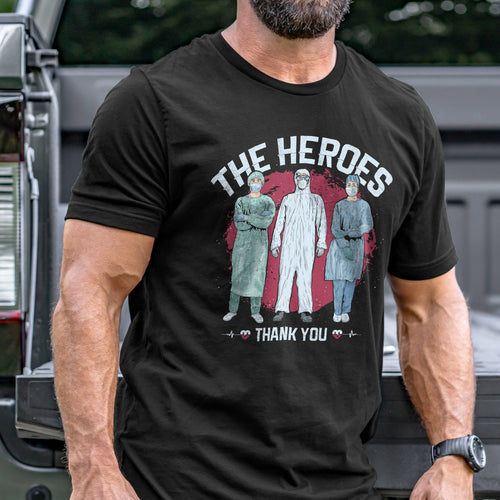 The Heroes - Thank You T-Shirt