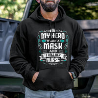 Load image into Gallery viewer, My Hero Wears a Mask Hoodie VIP