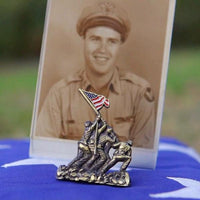 Load image into Gallery viewer, US Marine Corps Veteran Pin VIP