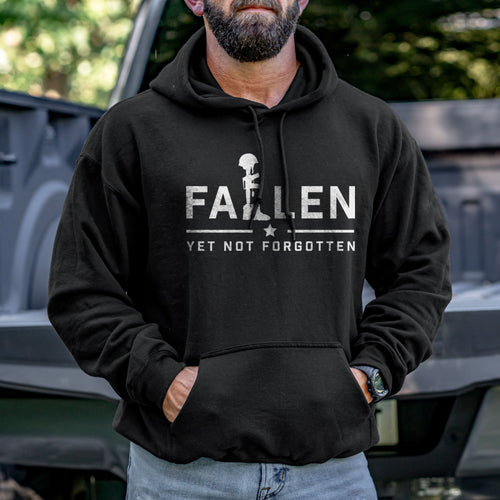 Fallen Yet Not Forgotten Logo Hoodie