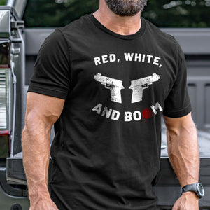 Red, White, and Boom T-Shirt