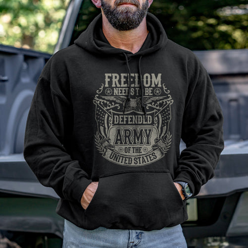 Freedom Needs to be Defended Hoodie VIP