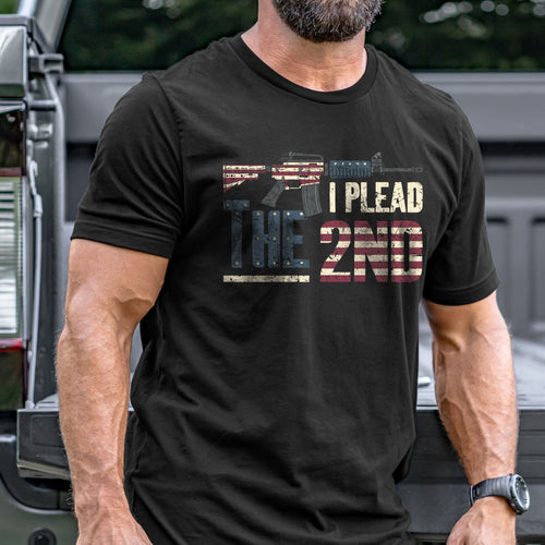 I Plead the 2nd T-Shirt VIP