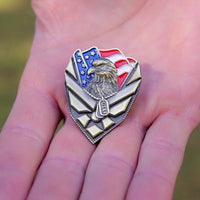 Load image into Gallery viewer, US Air Force Veteran Pin