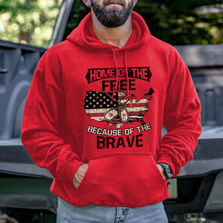 Load image into Gallery viewer, Home of the Free Hoodie