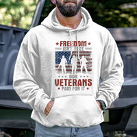 Load image into Gallery viewer, Freedom Isn't Free Hoodie VIP