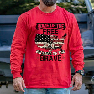 Home of the Free Long Sleeve VIP
