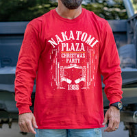 Load image into Gallery viewer, Nakatomi Plaza Christmas Party 1988 Long Sleeve