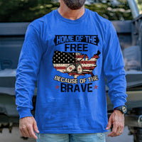 Load image into Gallery viewer, Home of the Free Long Sleeve