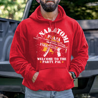 Load image into Gallery viewer, Nakatomi Plaza Welcome to the Party, Pal Hoodie