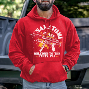Nakatomi Plaza Welcome to the Party, Pal Hoodie