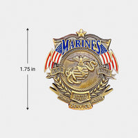 Load image into Gallery viewer, US Marines Veteran's Day Pin