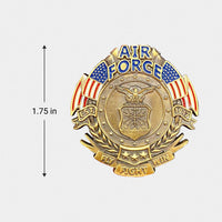 Load image into Gallery viewer, US Air Force Veteran's Day Pin (PRE-ORDER!!!)