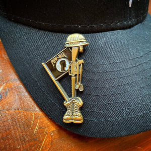 Fallen Soldier POW Memorial Pin VIP