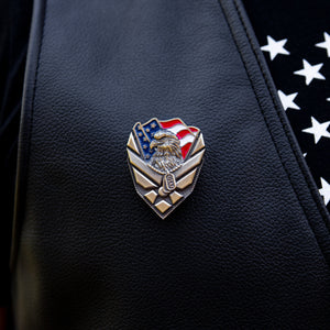 US Air Force Veteran Pin