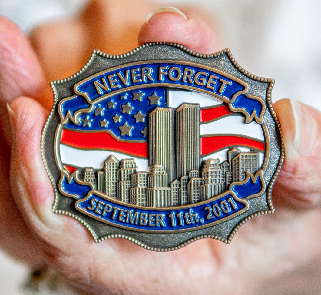 9/11 Never Forget™ Commemorative Lapel Pin